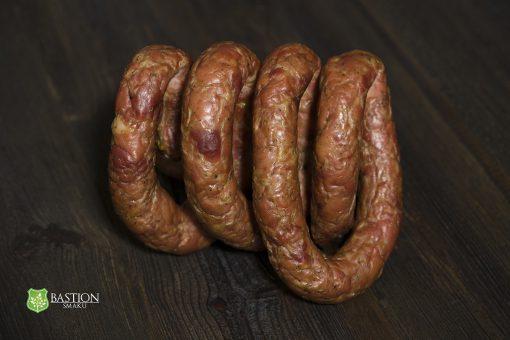Bastion Smaku - Kiełbasa Książęca - Princely Smoked Sausage